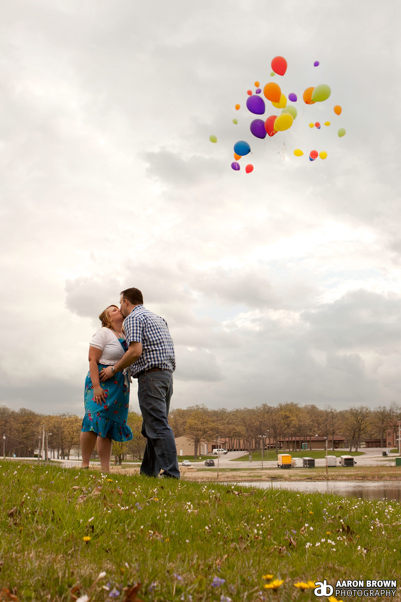 Emily Waggoner & Joe Koranek Engagement Session Lake County Fairgrounds - Crown Point, Indiana
