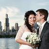 Iryna Zablotna & A.J. Waggoner<br /> Portrait - The City Skyline<br /> Around the City - Chicago, Illinois