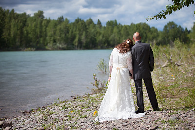 Columbia Falls, Montana Wedding