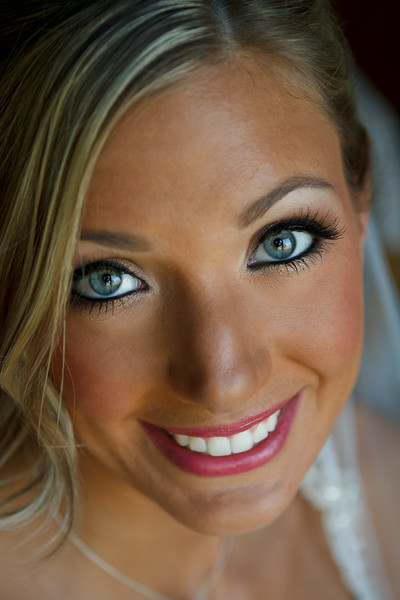 Lauren Press & Geoff Cianci Getting Ready - All Did Up Maid of Honor's Home - Crown Point, Indiana MUA: Krissy Vanderwoude