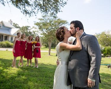 Samia and Andrew's wedding
