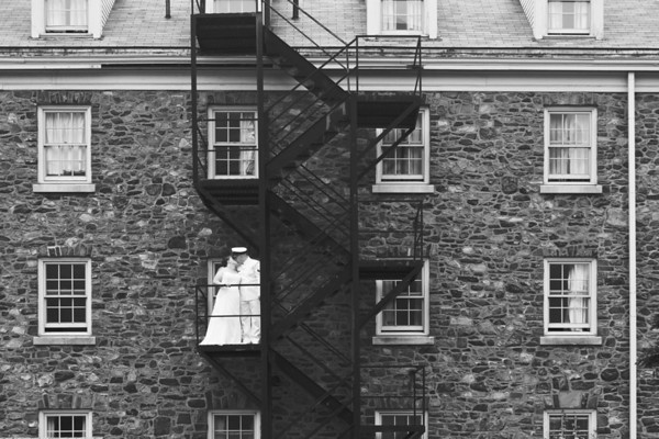 Kathryn & Will - On the Fire Escape
