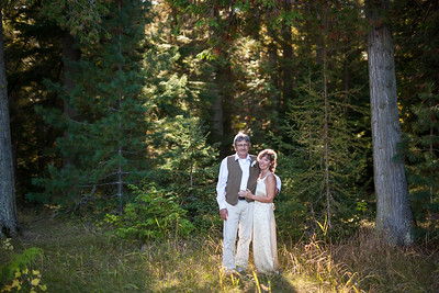 Elopement in Glacier National Park