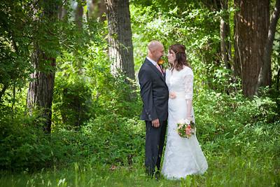 Columbia Falls, Montana Wedding