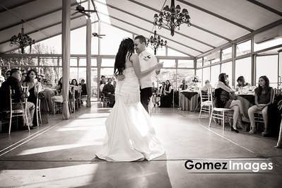 First Dance wedding portrait at Hiddenbrooke Golf Club