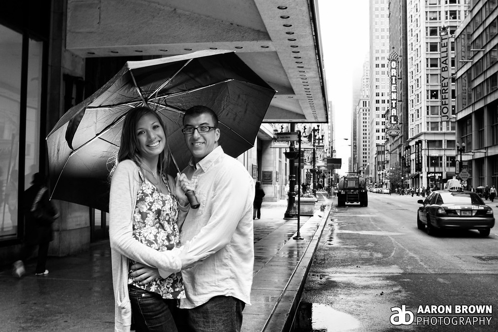 Lauren Press & Geoff Cianci Engagement Session Downtown Chicago - Chicago, Illinois