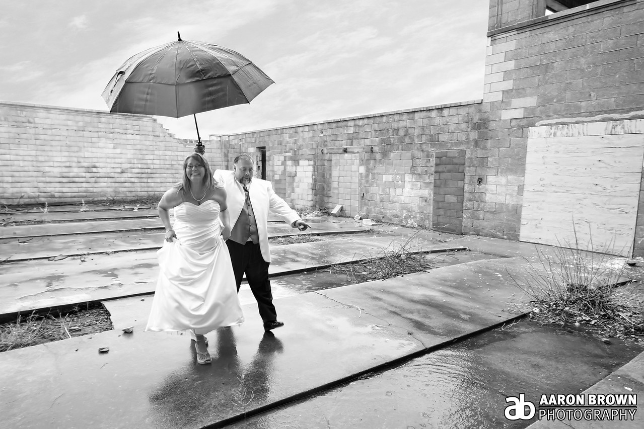 Sherri Evanovich & Barney Guzman Wedding Day | Ceremony Marquette Park - Gary, Indiana