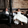 Stephanie Jessup & Dave Miloshoff<br /> Wedding Day - Reception Portrait<br /> The Allure - LaPorte, Indiana