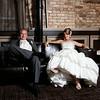 Stephanie Jessup & Dave Miloshoff<br /> Wedding Day - Reception Portrait<br /> The Allure - LaPorte, Indiana