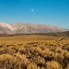 Moon Afternoon in the Utah Prairie