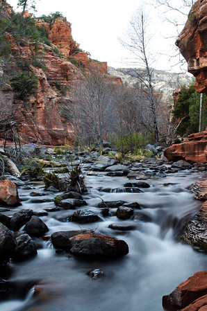 River In Slide Rock