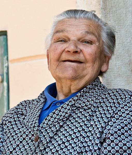 Croatian woman, Porec