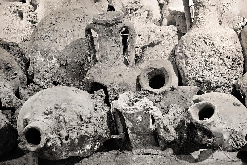Pula, Croatia, amphoras