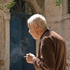 Smoker portrait, Porec, Croatia