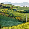 Multi-layered Umbrian countryside