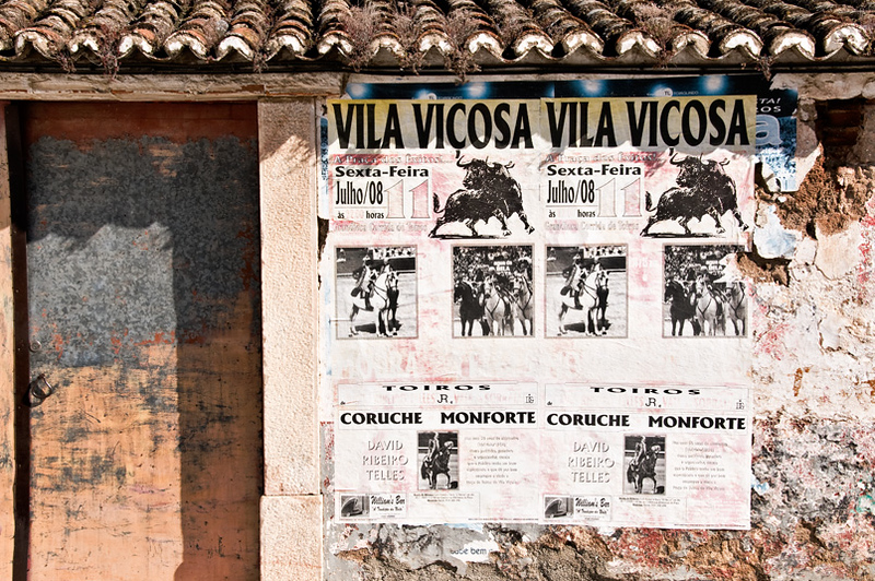 Borba bullfight poster
