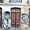 Lisbon, Alfama, graffiti
