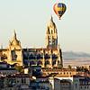 Segovia cathedral, sunrise