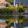 Lake Bled scene