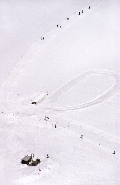 June skiers at Jungfrau