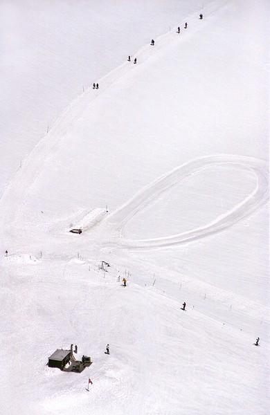 June skiers at Jungfrau
