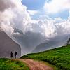 Hike, Kleine Scheidegg to Wendernalp