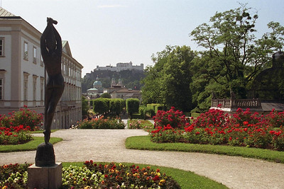 Mirabella gardens, Salzburg, Austria. One of the Sound of Music filming locations.