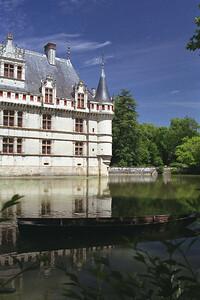 The chataeu Azay le Rideau, Loire Valley, France
