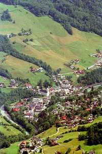 Austrian town in the alps