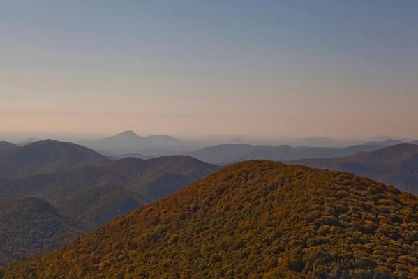 Brasstown Bald Mountain (4784ft.) (Photo: Kelly J. Owen)