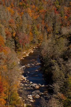 Linville Gorge  (Photo: Kelly J. Owen) 2011