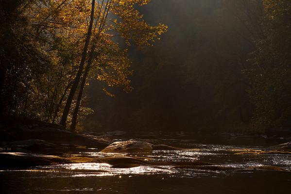 """""""Morning at the Nantahala River"""" Franklin, North Carolina (Photo: Kelly J. Owen)"""