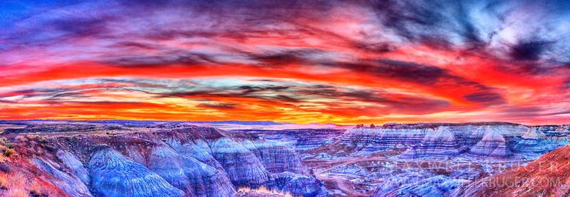 Painted Desert<br>Arizona<br>2008