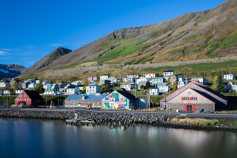 Siglufjörður, charming fishing village, North Iceland