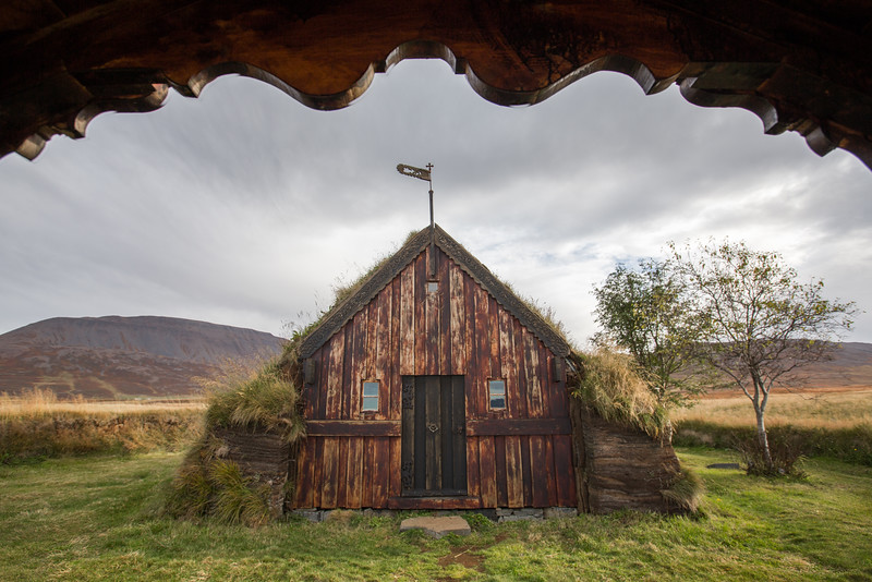 Grafarkirkja church, Hofsos, Iceland