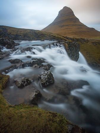 Kirkjufell Waterfall, Snæfellsnes peninsula, Iceland