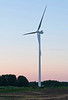 Wind Turbine At Dusk 1