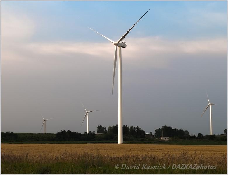 Wind Turbines In Farmland 02