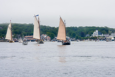 Entering Boothbay Harbor