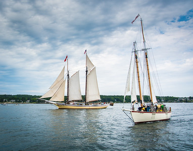 Windjammers in Boothbay