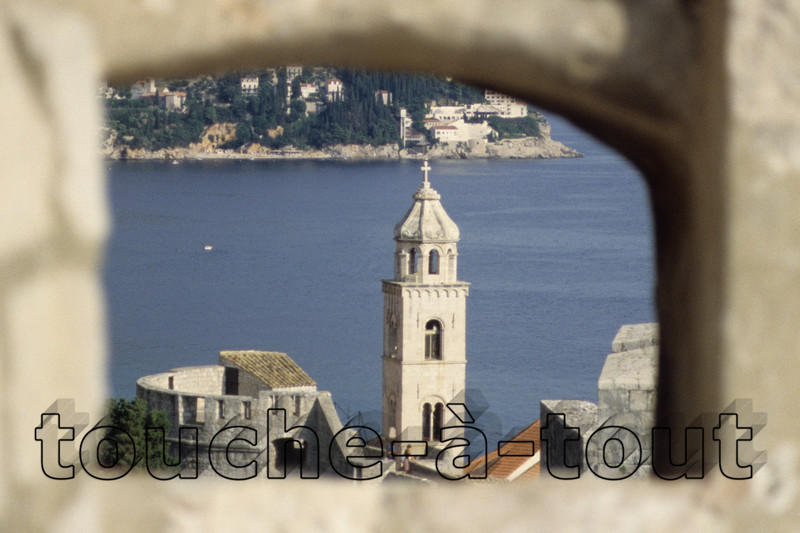 From the walls of Dubrovnik, Croatia