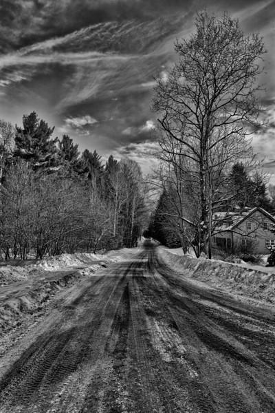 The back way - Stowe, VT