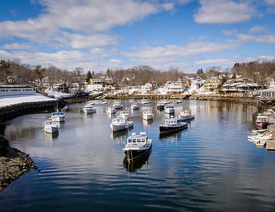 Perkins Cove in Winter