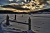 Fence line - Waitsfield, VT