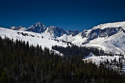 Views from Boreas Pass above Breckenridge, Colorado