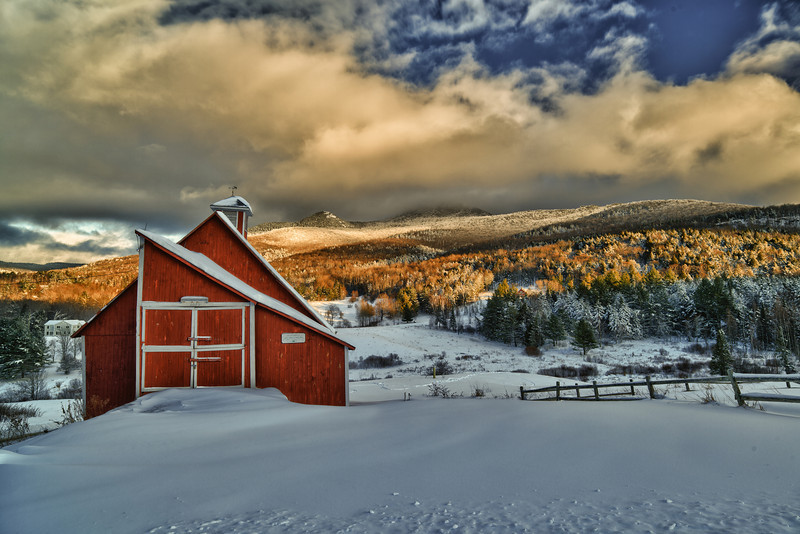 Grand View Farm - Late Afternoon, December 28, 2012