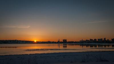 Sunrise Over Back Bay