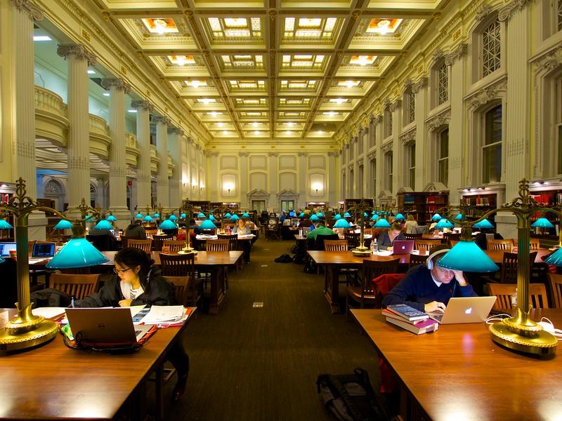 Library, University of Wisconsin - Madison, Wisconsin