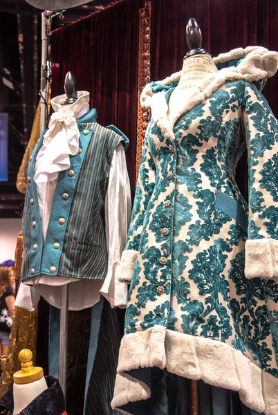 Beautiful clothes designed by Samiah at WonderCon 2019