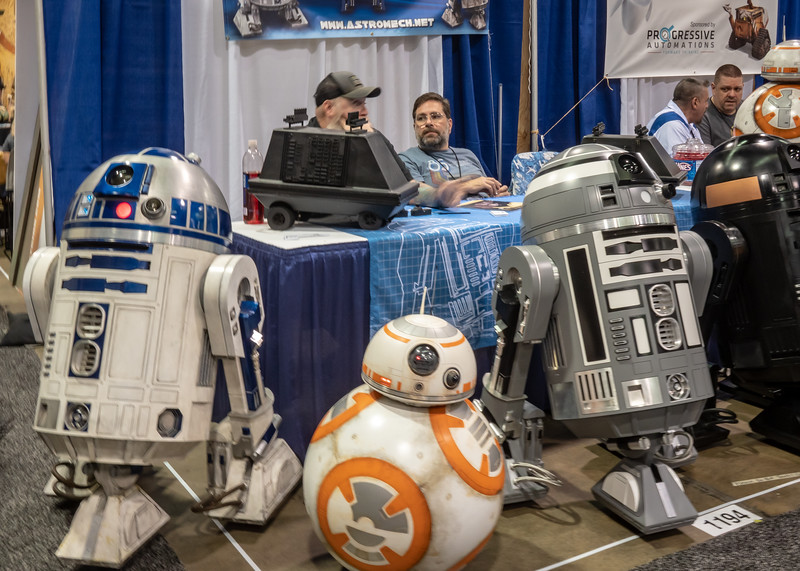 R2 Builders at WonderCon 2019 in Anaheim, CA